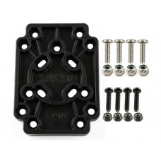 Adapter Plate with AMPS and Vesa Hole Patterns